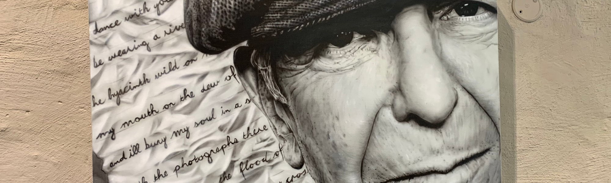 Painting Commission of Leonard Cohen
