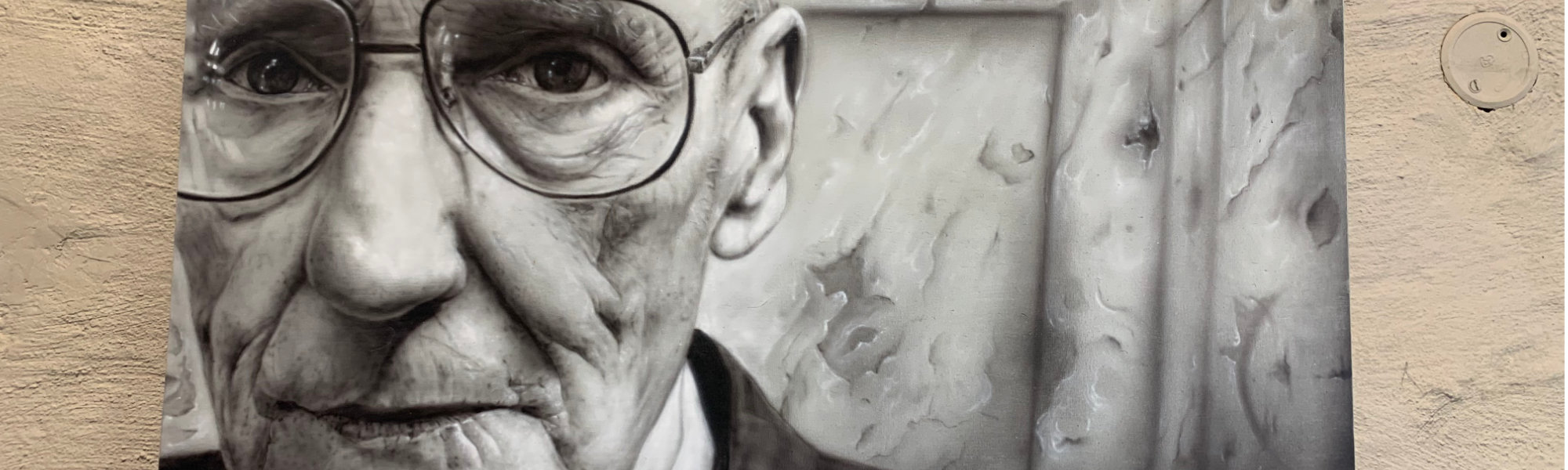 Painting Commission of William Burroughs